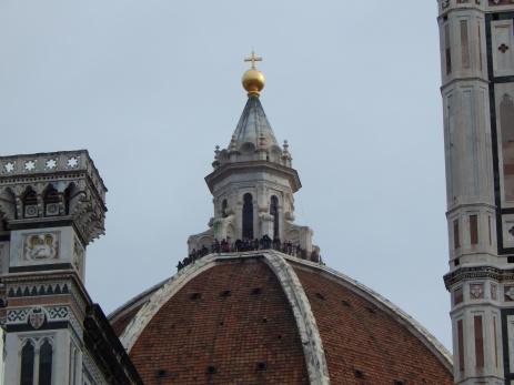 Así se ve la cúpula desde abajo