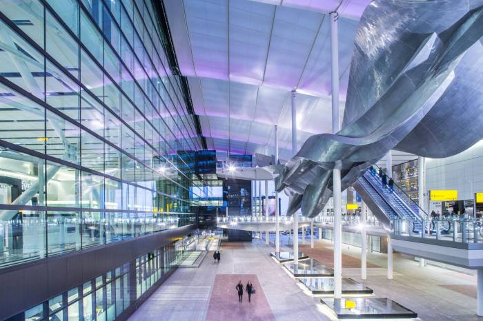 Aeropuerto de Heathrow, Londres (Gran Bretaña)